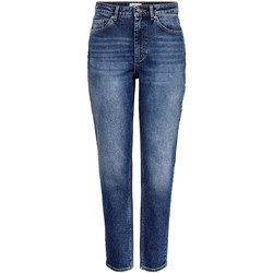Vêtements Femme Jeans Only ONLVENEDA LIFE MOM bleu