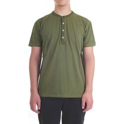 Vêtements Homme T-shirts manches courtes Diktat DK77162 Vert militaire