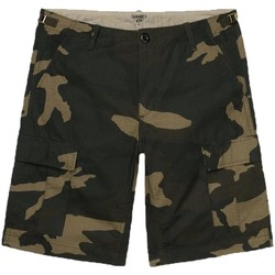 Vêtements Homme Shorts / Bermudas Carhartt AVIATION SHORT CAMOUFLAGE Vert