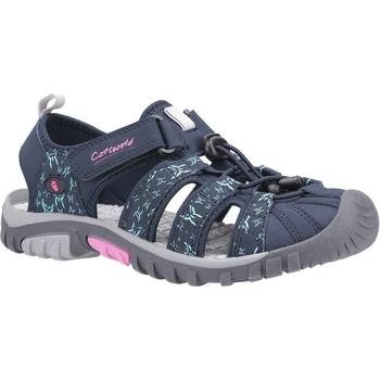 Chaussures Femme Sandales et Nu-pieds Cotswold  Bleu marine / Rose