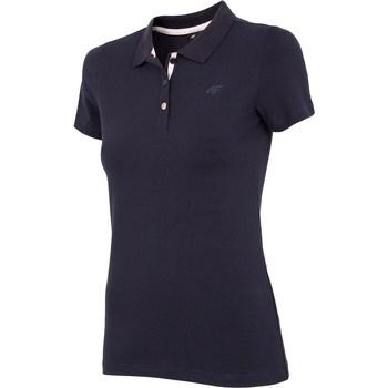 Vêtements Femme T-shirts manches courtes 4F TSD008 Noir