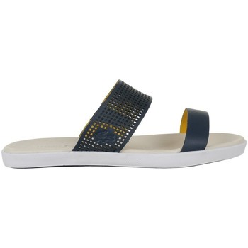 Chaussures Femme Tongs Lacoste Natoy Slide Bleu marine