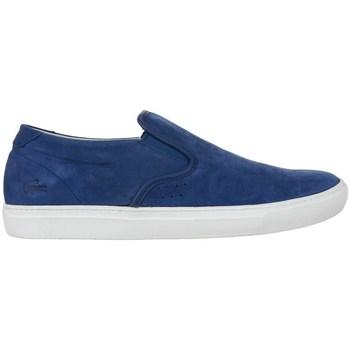 Chaussures Homme Mocassins Lacoste Alliot Slipon Bleu