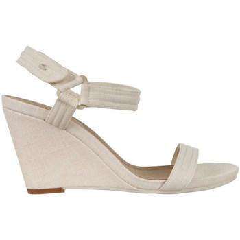Chaussures Femme Sandales et Nu-pieds Lacoste Karoly 3 Beige
