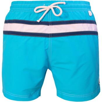 Vêtements Homme Maillots / Shorts de bain Les Loulous De La Plage Short de bain homme JAZZ Bleu
