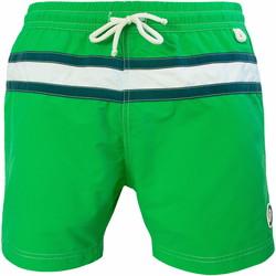 Vêtements Homme Maillots / Shorts de bain Les Loulous De La Plage Short de bain homme JAZZ Vert