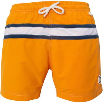 Vêtements Homme Maillots / Shorts de bain Les Loulous De La Plage Short de bain homme JAZZ Orange