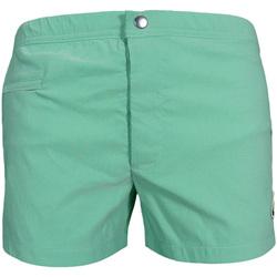 Vêtements Homme Maillots / Shorts de bain Les Loulous De La Plage Short de bain homme OCTAVE Vert