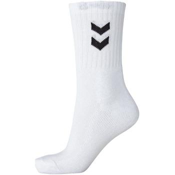 Accessoires Chaussettes Hummel Lot de 3 chaussettes  Basic blanc