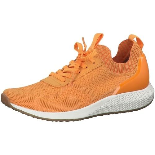 Chaussures Femme Baskets mode Tamaris 23714 orange
