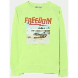 Vêtements Garçon Sweats Little Cerise Sweat blitzbo vert fluo LEMON