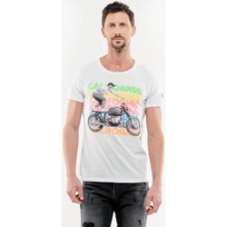 Vêtements Homme T-shirts & Polos Japan Rags T-shirt gavin blanc WHITE