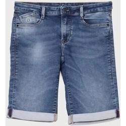 Vêtements Garçon Shorts / Bermudas Little Cerise Bermuda jogg boy bleu BLUE