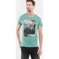 Vêtements Homme T-shirts & Polos Japan Rags T-shirt Harvey vert GREEN
