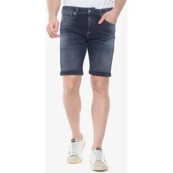 Vêtements Homme Shorts / Bermudas Japan Rags Bermuda jogg ed bleu gris BLUE / BLACK
