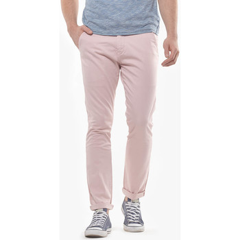 Vêtements Homme Pantalons Japan Rags Pantalon chino slim jas rose fumé PINK SMOKE