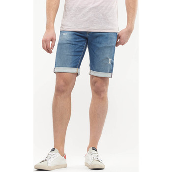 Vêtements Homme Shorts / Bermudas Japan Rags Bermuda jogg if bleu destroy BLUE