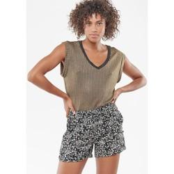 Vêtements Femme Shorts / Bermudas Le Temps des Cerises Short iris noir BLACK