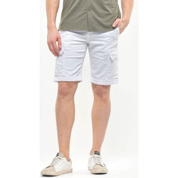 Vêtements Homme Shorts / Bermudas Japan Rags Bermuda Jogg Damon blanc WHITE