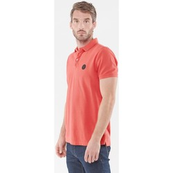 Vêtements Homme T-shirts & Polos Japan Rags Polo Dylan rouge TOMATO