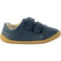 Chaussures Garçon Baskets mode Clarks Basket enfant Roamer Craft T Navy Leather