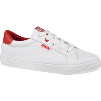 Chaussures Femme Baskets basses Big Star EE274311 Blanc,Rouge