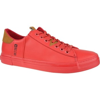 Chaussures Homme Baskets basses Big Star GG174027 Rouge