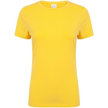Vêtements Femme Musse & Cloud Skinni Fit Stretch Jaune