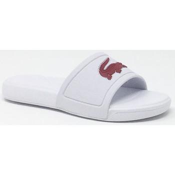 Chaussures Enfant Claquettes Lacoste LACOSTE L.30 SLIDE BLANC/ROSE Rose