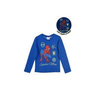 Vêtements Garçon T-shirts manches longues TEAM HEROES SPIDERMAN Bleu