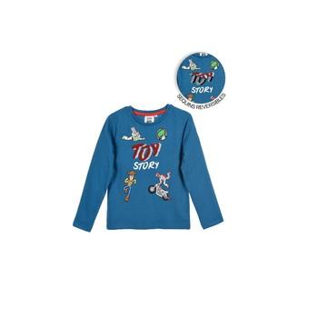 Vêtements Garçon T-shirts manches longues TEAM HEROES TOY STORY Bleu