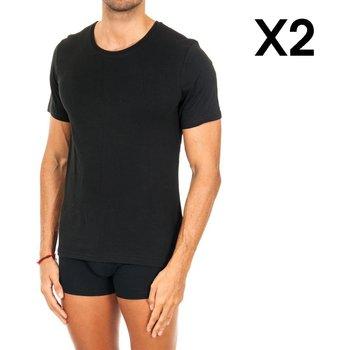 Vêtements Homme T-shirts manches courtes Tommy Hilfiger Pack 2 T-shirts Tommy Hilfiger Noir