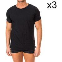Vêtements Homme T-shirts manches courtes Tommy Hilfiger Pack-3 T-shirts Tommy Hilfiger Noir
