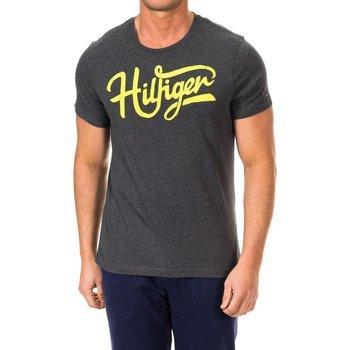 Vêtements Homme T-shirts manches courtes Tommy Hilfiger Tommy Hilfiger M / T-shirt court Gris
