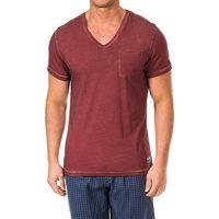 Vêtements Homme T-shirts manches courtes Tommy Hilfiger Tommy Hilfiger M / T-shirt court Rouge