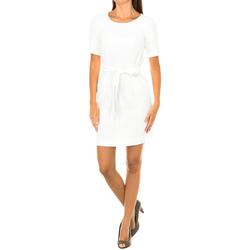 Vêtements Femme Robes courtes Armani jeans Robe à manches courtes Blanc