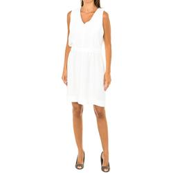 Vêtements Femme Robes courtes Armani jeans Robe sans manches Blanc