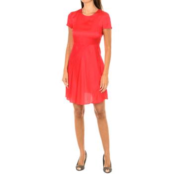 Vêtements Femme Robes courtes Armani jeans Robe à manches courtes Rouge