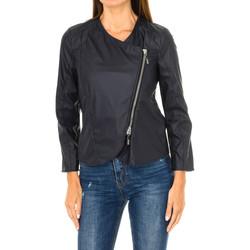 Vêtements Femme Vestes en cuir / synthétiques Armani jeans Veste Bleu