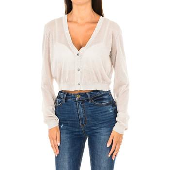 Vêtements Femme Gilets / Cardigans Armani jeans Cardigan Beige