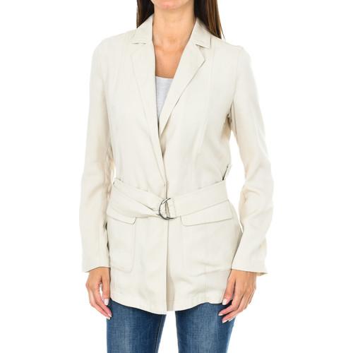 Vêtements Femme Vestes / Blazers Armani jeans Blazer à ceinture Beige