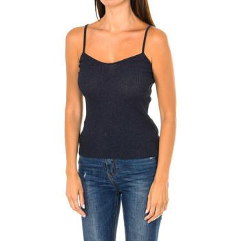 Vêtements Femme Tops / Blouses Armani jeans Débardeur Bleu