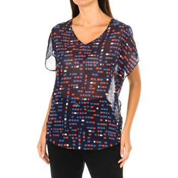 Vêtements Femme Tops / Blouses Armani jeans Chemisier à manches courtes Bleu