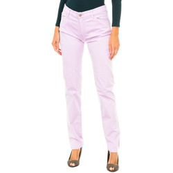 Vêtements Femme Pantalons 5 poches Armani jeans Pantalon long Violet