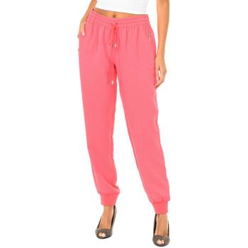 Vêtements Femme Pantalons fluides / Sarouels Armani jeans Pantalon long Rose