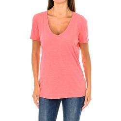 Vêtements Femme T-shirts manches courtes Armani jeans T-shirt à manches courtes Rouge