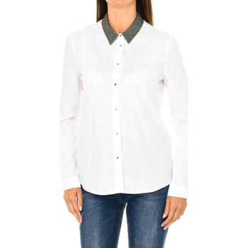 Vêtements Femme Chemises / Chemisiers Armani jeans Chemise à manches longues Blanc