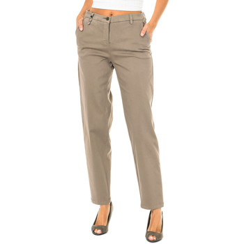 Vêtements Femme Chinos / Carrots Armani jeans Pantalon long Marron