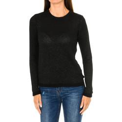 Vêtements Femme Pulls Armani jeans Pull à manches longues en jean Noir