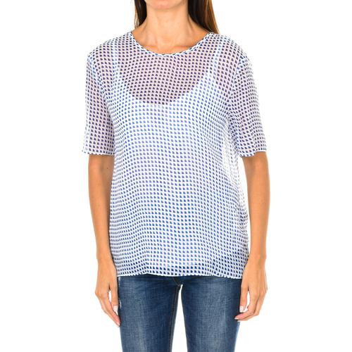 Vêtements Femme Tops / Blouses Armani jeans Chemisier à manches courtes Multicolore
